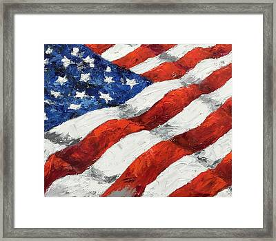 Old Glory II Framed Print