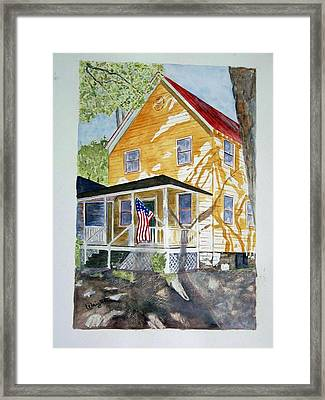 Old Glory Framed Print by Larry Wright