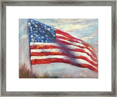 Old Glory Vi Framed Print