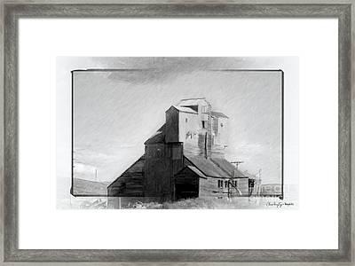 Old Grain Elevator Framed Print