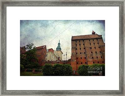 Old Granaries In Grudziadz Poland Framed Print