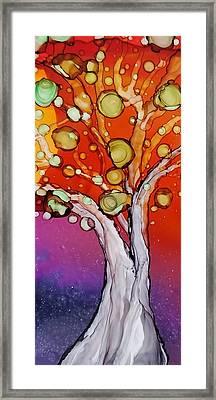 Old Gray Tree Framed Print