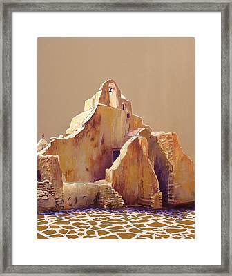 Old Greek Church Framed Print