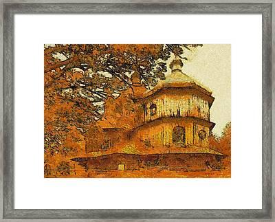 Old Greek Orthodox Church In Poland Framed Print