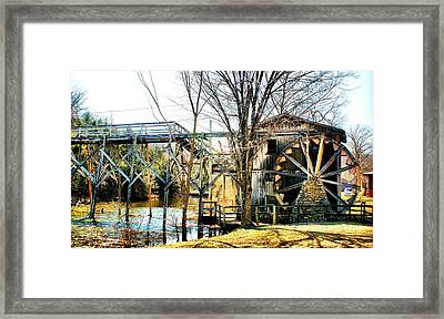 Framed Print featuring the photograph Old Gristmill by Rick Friedle