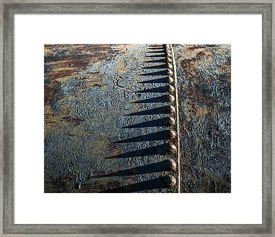 Framed Print featuring the photograph Old Grunge by Mary Hone