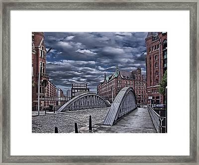 Old Hamburg Framed Print