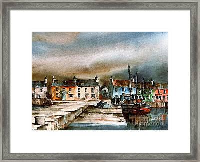 Old Harbour Dingle, Kerry Framed Print