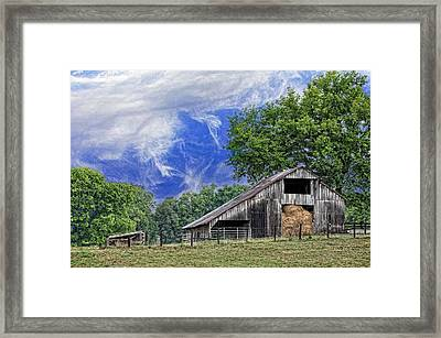 Old Hay Barn Framed Print