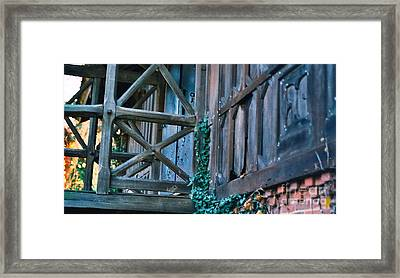 Old Home Iv Framed Print by Simonne Mina