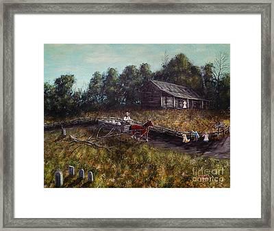 Old Home, New Family Framed Print by Jack Lepper