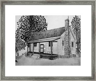 Old Home Place Framed Print by Dale Ballenger
