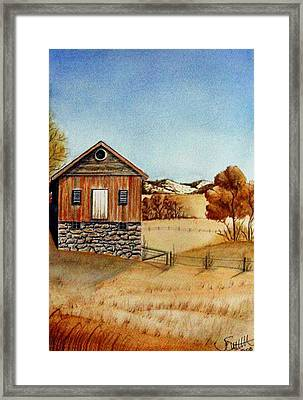 Old Homestead Framed Print by Jimmy Smith