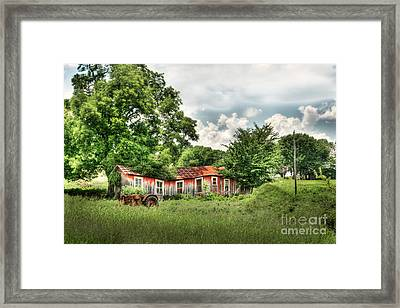 Old Homestead Framed Print by Tamyra Ayles