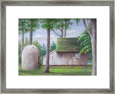 Old House And Oven Framed Print by Oz Freedgood