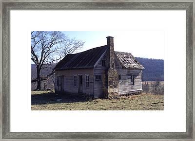Old House Framed Print by Curtis J Neeley Jr