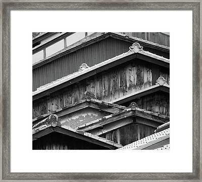 Old House Framed Print by Denis J Canning