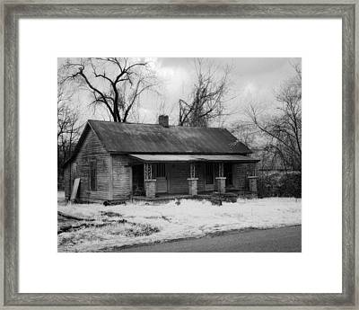 Old House Framed Print by Fred Baird