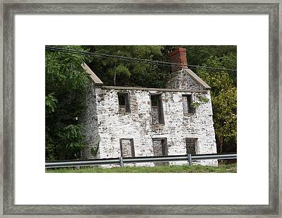 Old House Framed Print by Heather Green