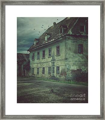 Old House Framed Print by Mythja Photography