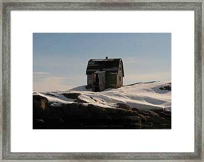 Old House Framed Print by Sidsel Genee