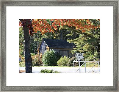 Old House Framed Print by Sue Mayor