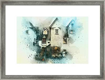 Old House Framed Print by Svetlana Sewell