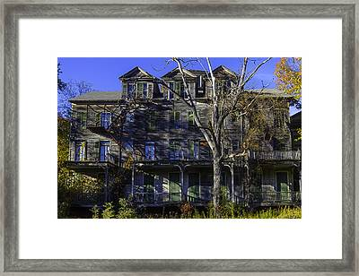 Old House Vermont Framed Print