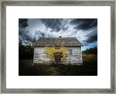 Framed Print featuring the photograph Old House by Wesley Aston
