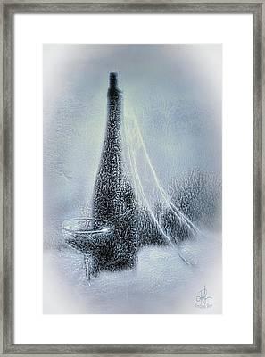 Old Ice Wine Framed Print