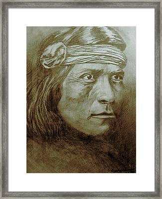Old Indian Reference Framed Print