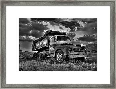 Old International #2 - Bw Framed Print