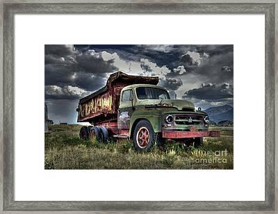 Old International #2 Framed Print