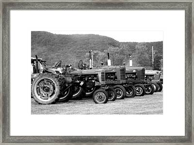 Framed Print featuring the photograph Old Iron by Rick Morgan