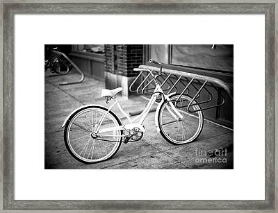 Old Is New In Savannah Framed Print