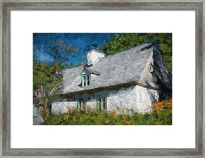 Old Island Cottage Framed Print by Drifting Light