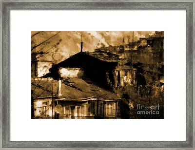Framed Print featuring the photograph Old Istanbul by Dariusz Gudowicz