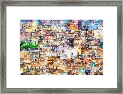 Old Italy Framed Print by Shirley Stalter
