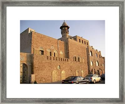 Old Jaffe Prison Framed Print by Yonatan Frimer Maze Artist