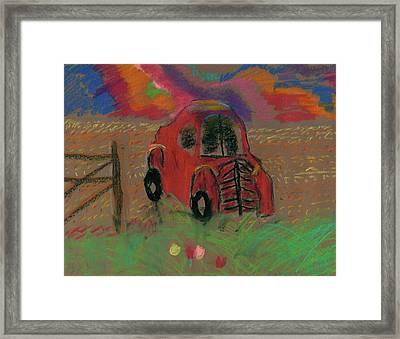 Old Jalopy Framed Print