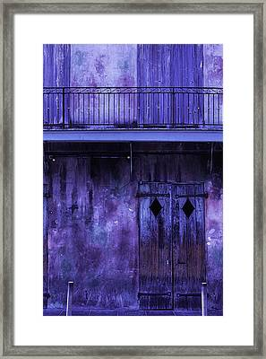 Old Jazz Club Framed Print by Garry Gay