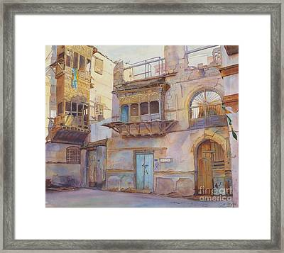 Old Jeddah Framed Print by Dorothy Boyer