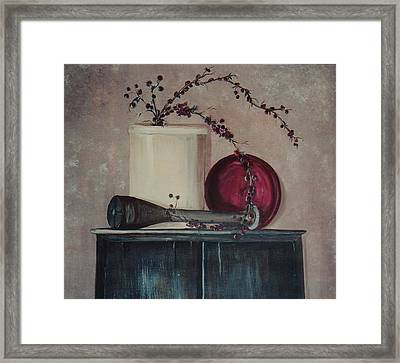 Old Framed Print by Jessica Mason