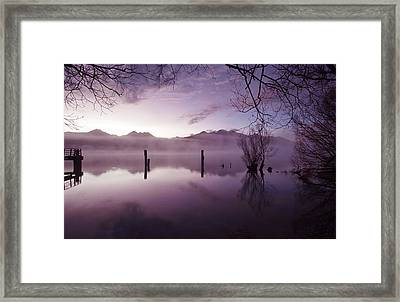 Old Jetty Remains Kinloch Framed Print by Odille Esmonde-Morgan