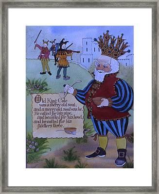 Old King Cole Framed Print by Victoria Heryet