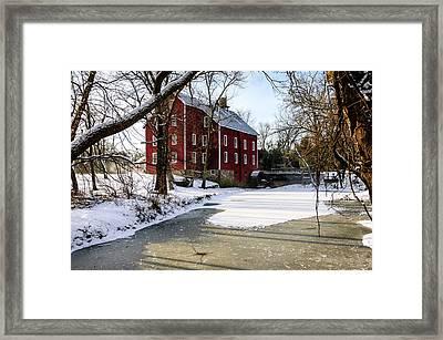 Old Kirbys Mill Framed Print
