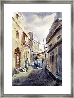 Old Lahore Framed Print by MKazmi Syed