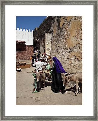 Old Lamu Town Framed Print