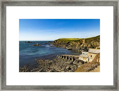 Framed Print featuring the photograph Old Life Boat Station by Brian Roscorla
