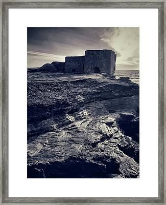 Old Lime Kilns Framed Print by Dave Bowman